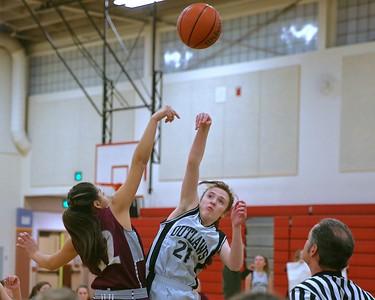 Outlaw 8th Grade Girls Basketball vs Redmond 1-21-2016