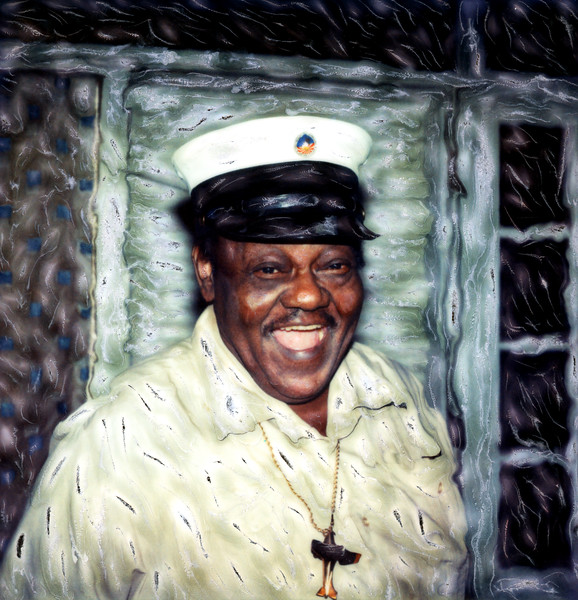 Portrait of Fats Domino ~ The 9th Ward, New Orleans