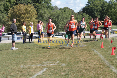 Mens College 5K 2nd Loop - 2012 Running Fit–Detroit Titan XC Invite