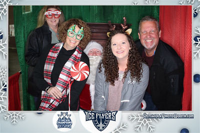 Pensacola Ice Flyers 12-21-2019 with Pensacola Photo Booth