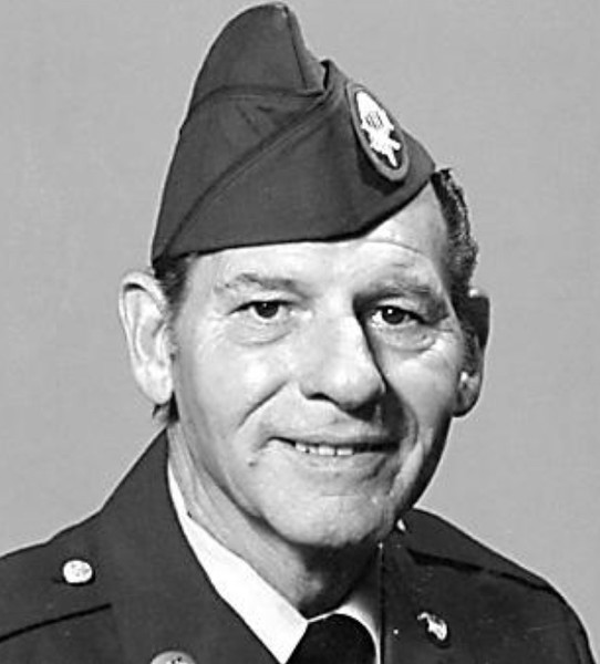 George Schock, U.S. Army master sergeant, father to George Schock. Schock served as an Airborne Ranger during the Korean Conflict and retired from the U.S. Army after 28 years of service.