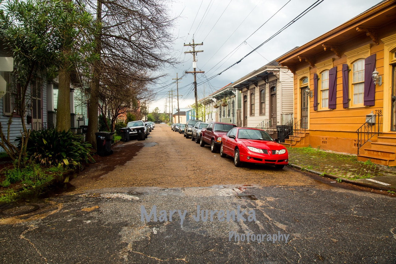 """Shotgun"" Houses and Apartments in New Orleans Bywaters Neighborhood"