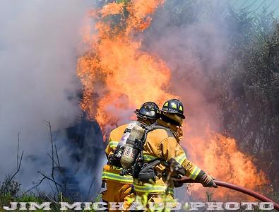 Skid Steer Fire - Vernon, CT - 7/15/19