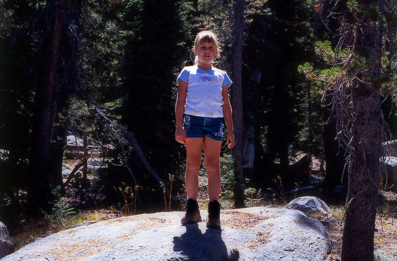 Elena the Hiker, at Yosemite.