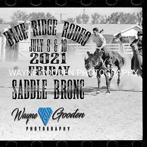Friday Blue Ridge Saddle Bronc Riding