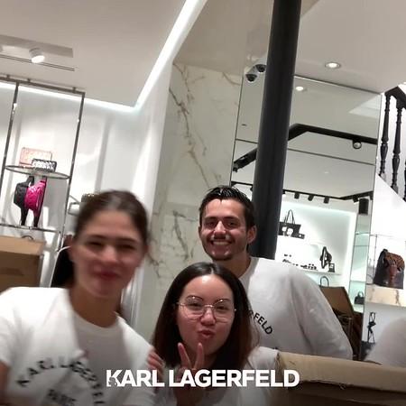 PARIS Karl Lagerfeld