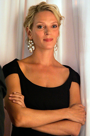 2006-09-12 - Uma Thurman at Tag Heuer celebrates Women and UNSEM event