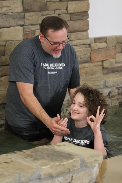 Baptism - January 28, 2018