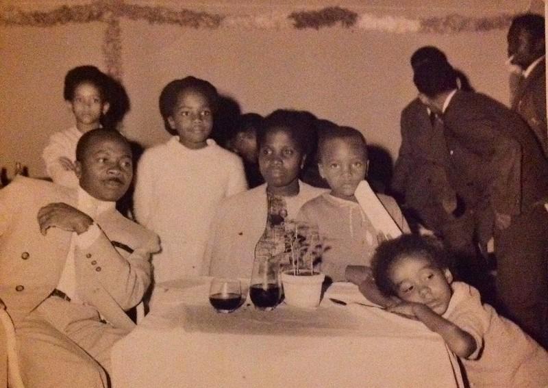 Familia Mata e Palmira Barbosa