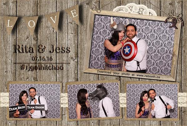 Rita & Jess Wedding Photobooth