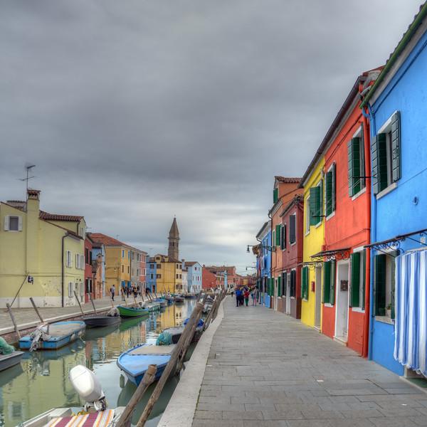 Burano - Venice, Italy - April 18, 2004