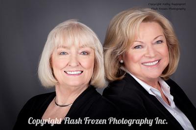 Susan Renick and Sherry Keowen