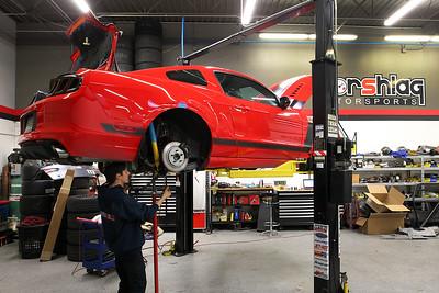 Zach Magar 2013 Boss 302 Mustang