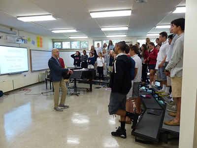 Choir Practice with Mr. Masters
