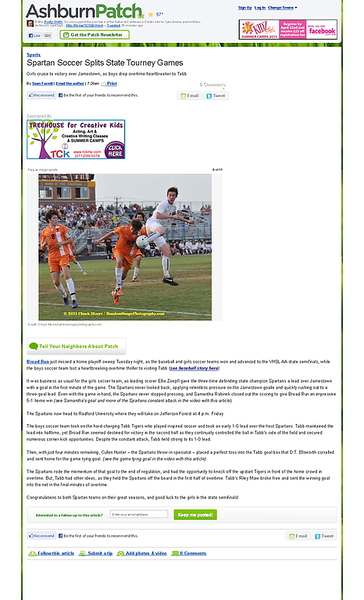 Spartan Soccer Splits State Tourney Games - Ashburn, VA Patch.png