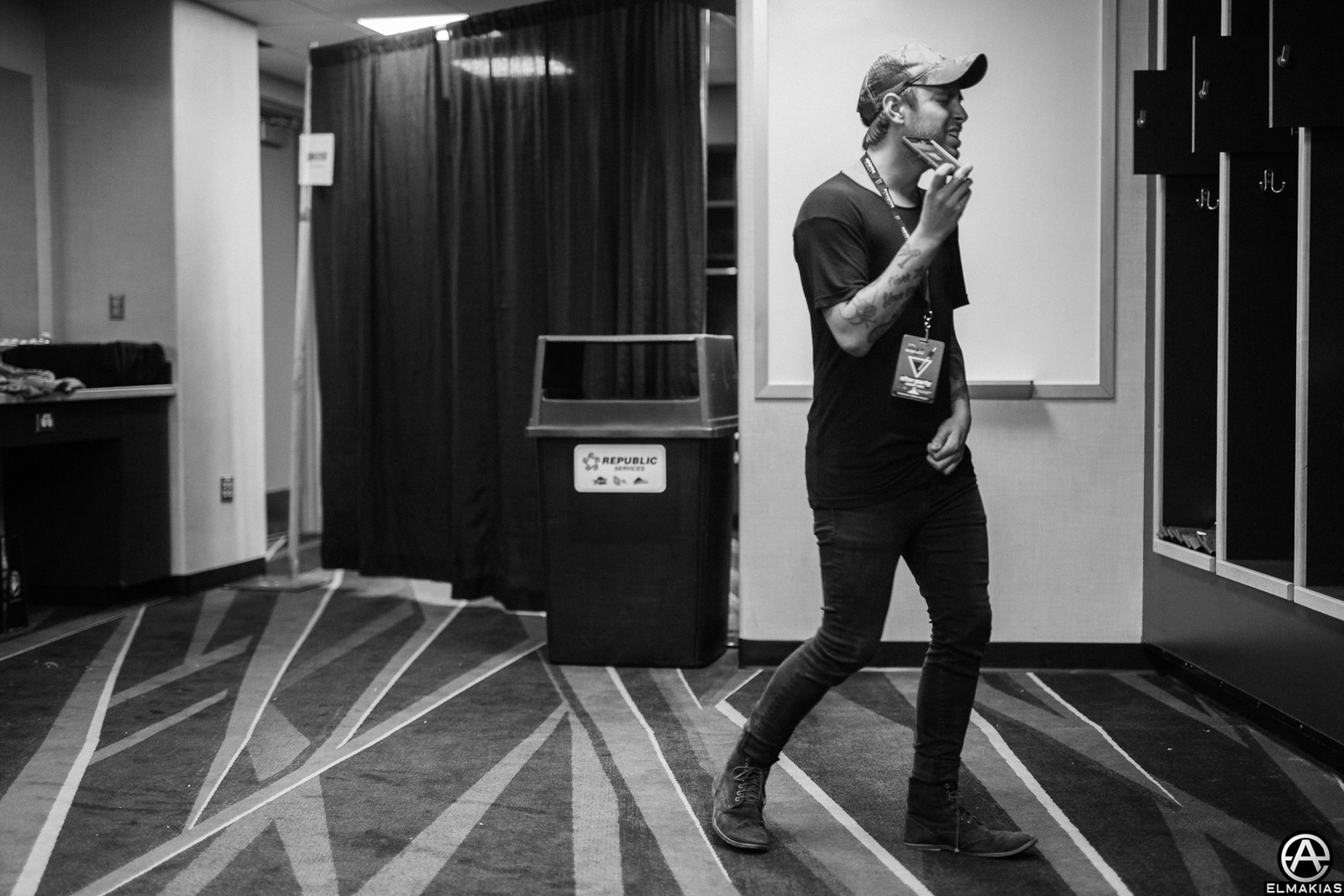 Tyler Carter of ISSUES at the APMAs 2015 by Adam Elmakias