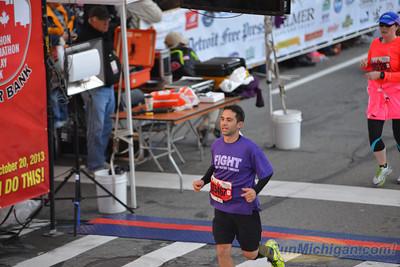 Half Marathon Finish, Gallery 4 - 2013 Detroit Free Press Marathon