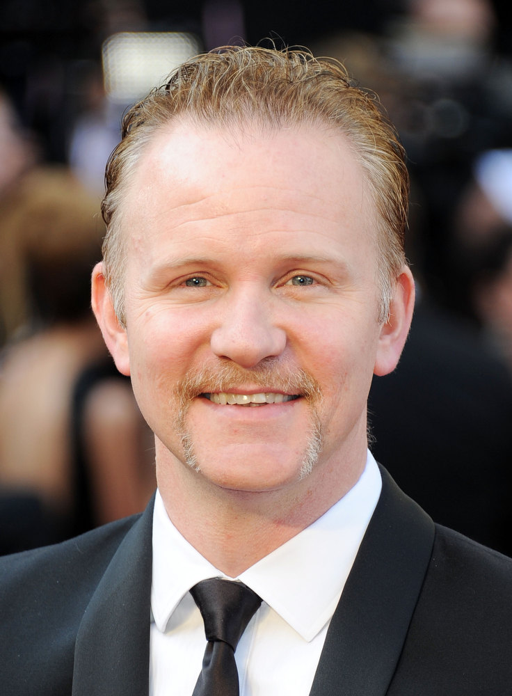 . Film maker Morgan Spurlock arrives at the 84th Annual Academy Awards held at the Hollywood & Highland Center on February 26, 2012 in Hollywood, California.  (Photo by Michael Buckner/Getty Images)