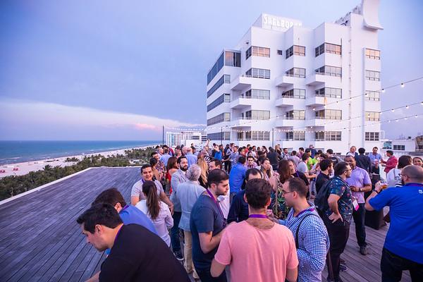 Microsoft Sponsored Rooftop Reception