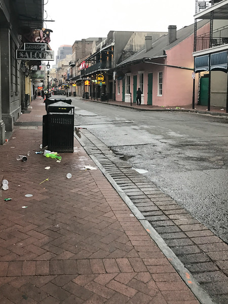 The Morning After, Bourbon Street