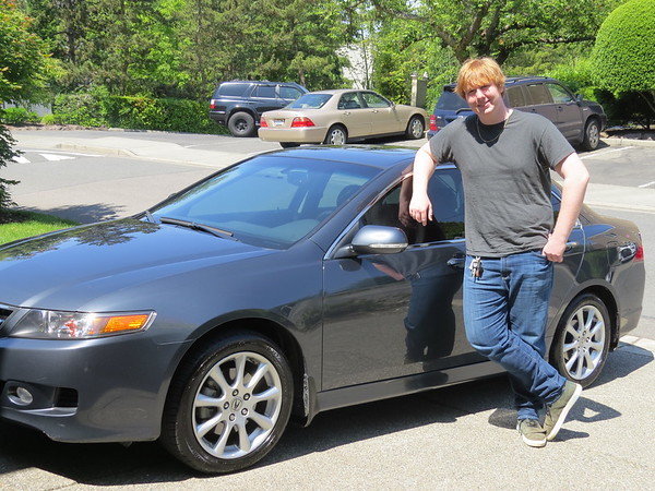 5-31-2014 Corey New Car