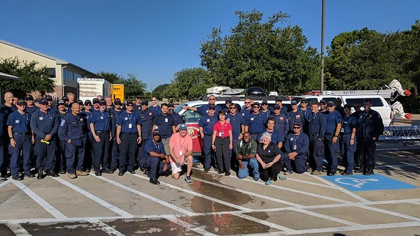 Harvey Looking Back - Monty Ballard Y Hosts Firemen from Arizona