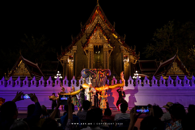 150th Anniversary of Wat Ratchabophit, Thai Puppet