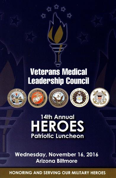 2016 VMLC Heroes Luncheon