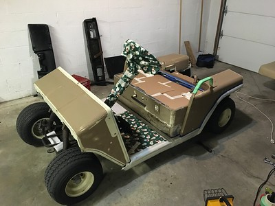 1991 EzGo Marathon Golf Cart 36v