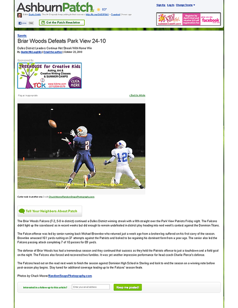 2010-10-23 -- Briar Woods Defeats Park View 24-10 - Ashburn, VA Patch.png