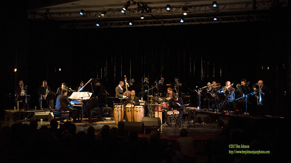 Arturo O'Farrill And The Latin Jazz Orchestra at Montgomery County Community College 2017