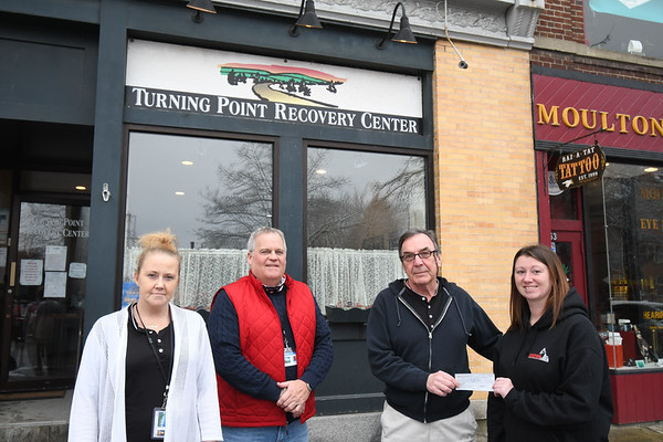 Turning Point Recovery Center Donation -010421