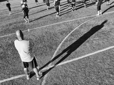 Football Practice vs Eastchester 8/30