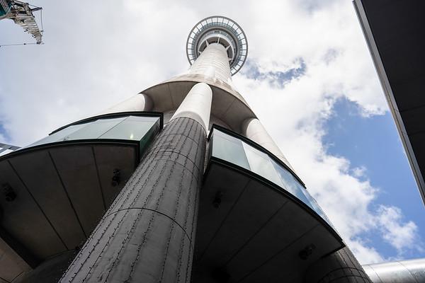 Sky tower,  Auckland, New Zealand - 2019