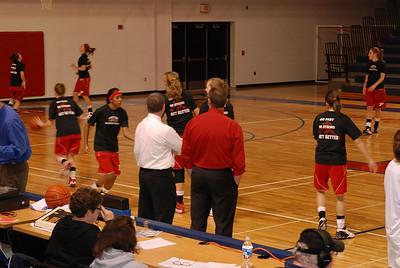 Girls Varsity Basketball - 2008-2009 - 3/2/2009 Districts Whitehall JG