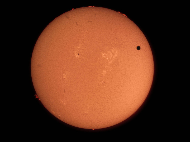 Ron Brecher Venus Transit 2 June 5 2012