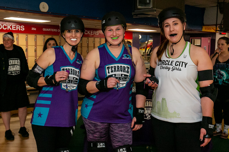 Terrorz Roller Derby vs Circle City Derby Girls