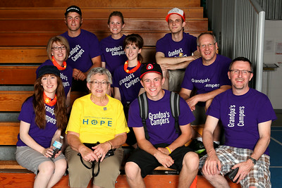2014 Relay for Life Revisited team photos