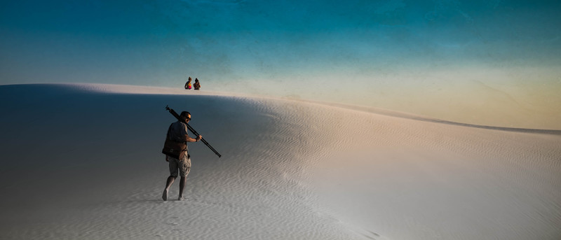 Photos in the White Sands