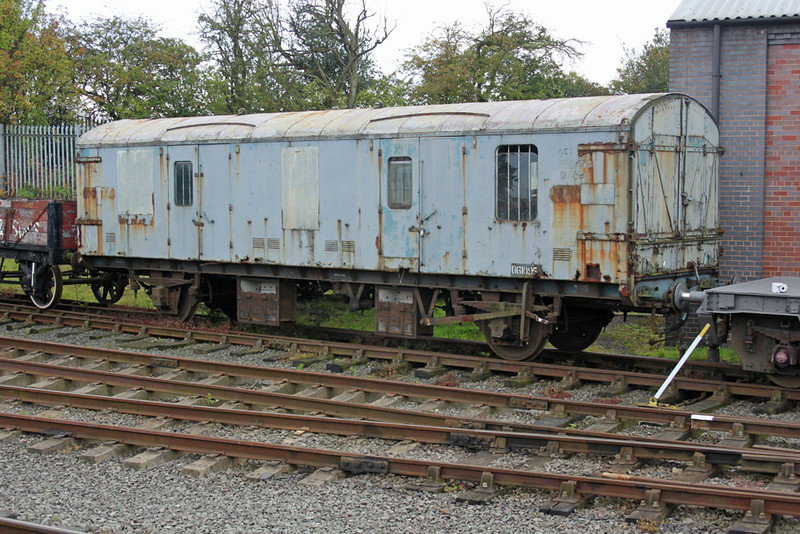 GUV 061095 at the Chasewater Railway, 11/09/11