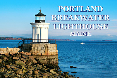 Portland Breakwater Lighthouse, Maine