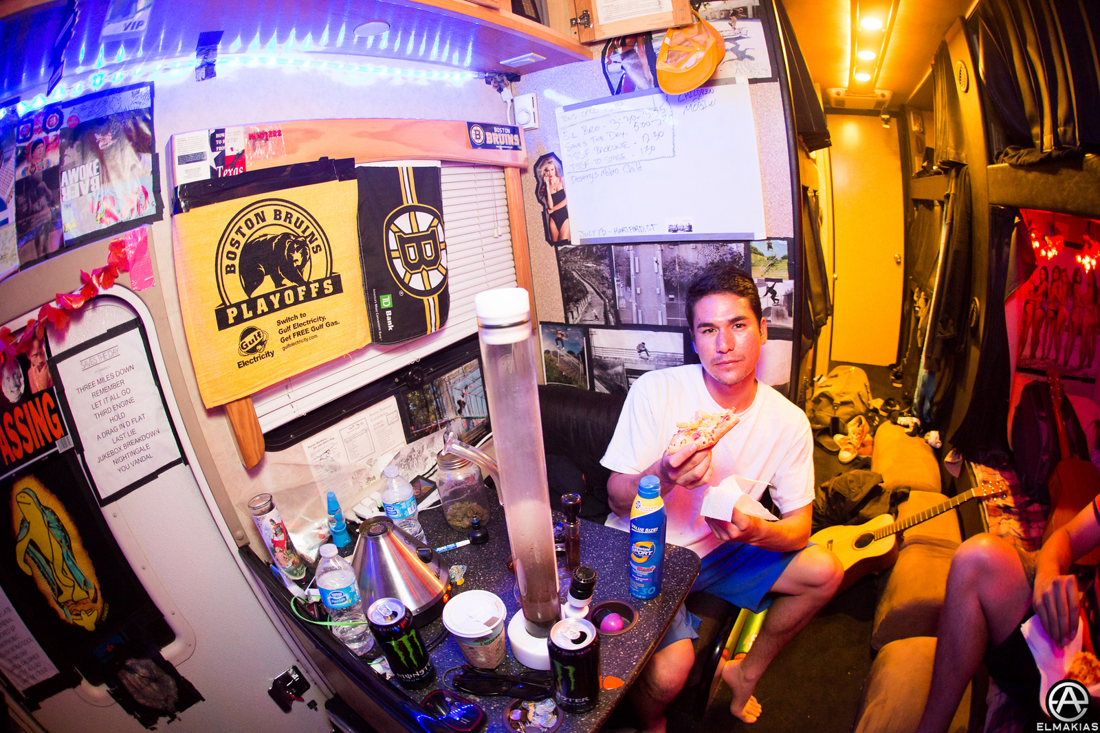 Late night rituals with Ryan Torf of The Story So Far