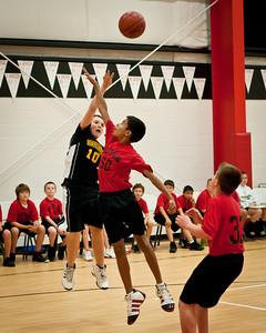 JV Boys v St. Elizabeth Seton 1-17-2012
