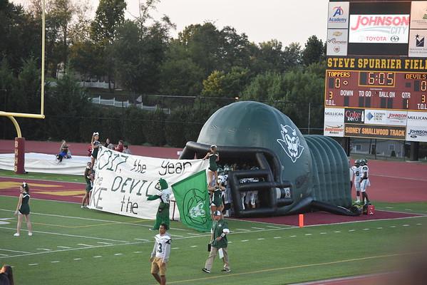 9-8-17 Greeneville High Football