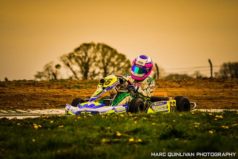 Motorsport Ireland Karting Championship 2019 - Round 1 - Mondello Park - Éimear Carey