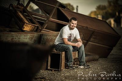 Garrett Crist Senior Portraits