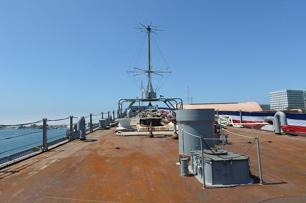 USS Iowa Battleship, Onboard Tour