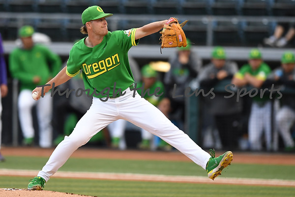 LSU vs. Oregon College Baseball Game 1  6/6/21