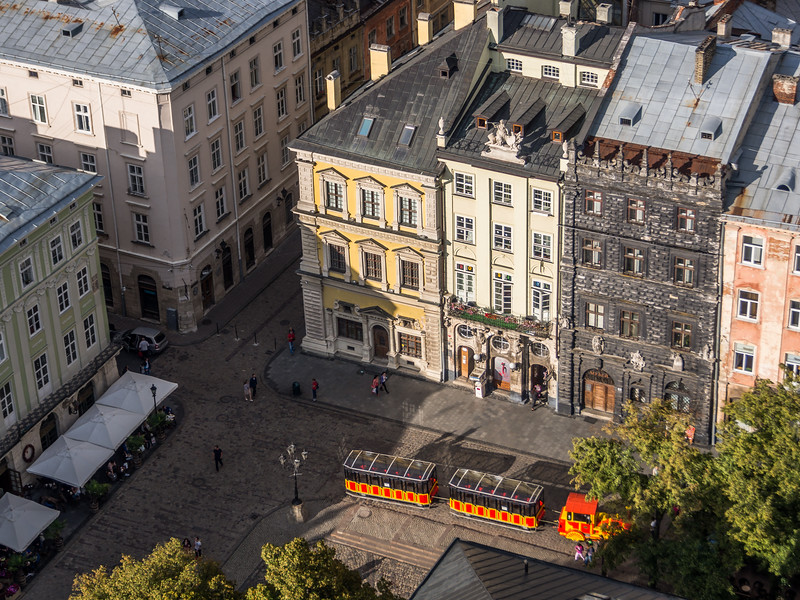 Burgher Houses on the Square, Lviv, Ukraine