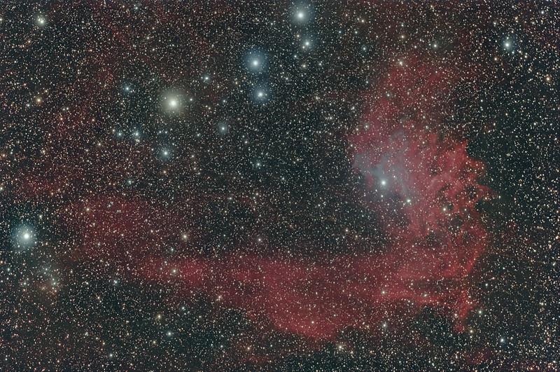 IC 405, Flaming Star Nebula